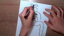 Uncle Grandpa Nasıl Çizilir How to draw Uncle Grandpa  Uncle Grandpa