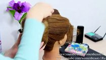 Hairstyles for Long medium hair. Updo hairstyles Videos For Women