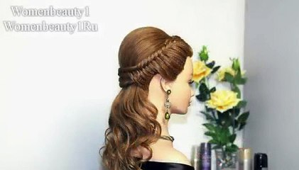 Video Easy prom hairstyles for long hair, bridal hairstyle tutorial ...