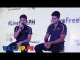 LiveFreePH Presscon with Piolo Pascual and Inigo Pascual Part 6