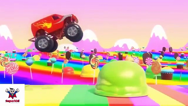 Monster Trucks For Children  Monster Trucks  Trucks Compilation   Truck for children