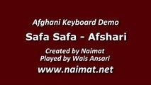 Afghan keyboard Demo Afshari Safa Safa Meyaya