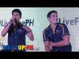 LiveFreePH Presscon with Piolo Pascual and Inigo Pascual Part 5