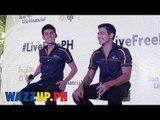 LiveFreePH Presscon with Piolo Pascual and Inigo Pascual Part 3