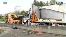 Accident mortel sur l'A42