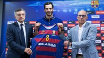 FCB Basket: Pau Ribas, presentat com a nou jugador del FC Barcelona Lassa