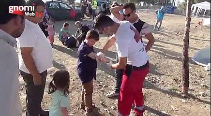 Προσφορά παιδικών τροφών στους πρόσφυγες της Ειδομένης, από την Κλινική Genesis