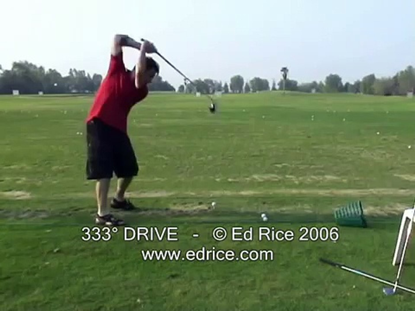 Ed Rice 333 Degree and 333 Yard Drive