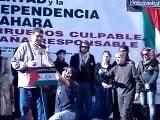 por un sahara libre manifestacion en madrid 2008