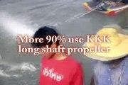 KKK Long Shaft Propeller , Long Tail Boat Racing