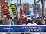 ARICA PARINACOTA YA ES REGION - Iquique TV Noticias