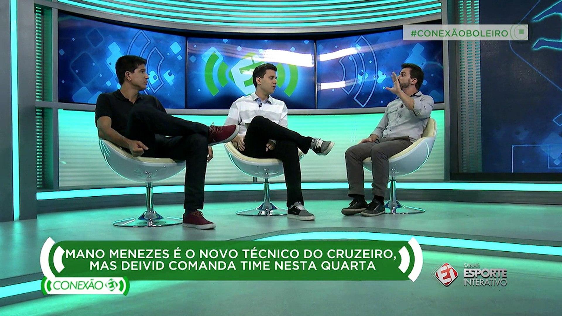 Getulio Vargas e Fernando Campos analisam a contratação de Mano Menezes, pelo Cruzeiro