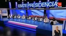 Bachelet y el 27F: Sigue sin querer hablar (Debate Anatel 30-10-2013)