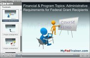 Preview Grant Training Course 1050: Other Financial and Program Management Topics for Non-profits