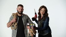 The Muppets (ABC) Katie Lowes and Guillermo Diaz Torture Gonzo Promo HD