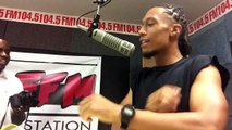 Jaybless Interview with Juan Verdejo at Wccg 104.5 (Hip hop and Rnb Station)