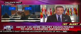 Fox News: New Batch Of Clinton Emails Has Approx. 150 Emails With Classified Info
