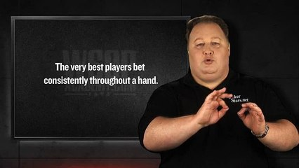 WSOP Academy - Chapter 02 Lesson 04 - Proper Bet Sizing