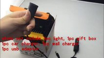 10W Rechargeable Waterproof LED Flood Light Portable Camping Fishing USB Spot Work Lamp