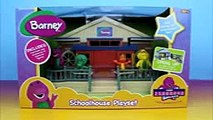 barney friends schoolhouse playset disney pixar cars lightning mcqueen mater crash into barney part