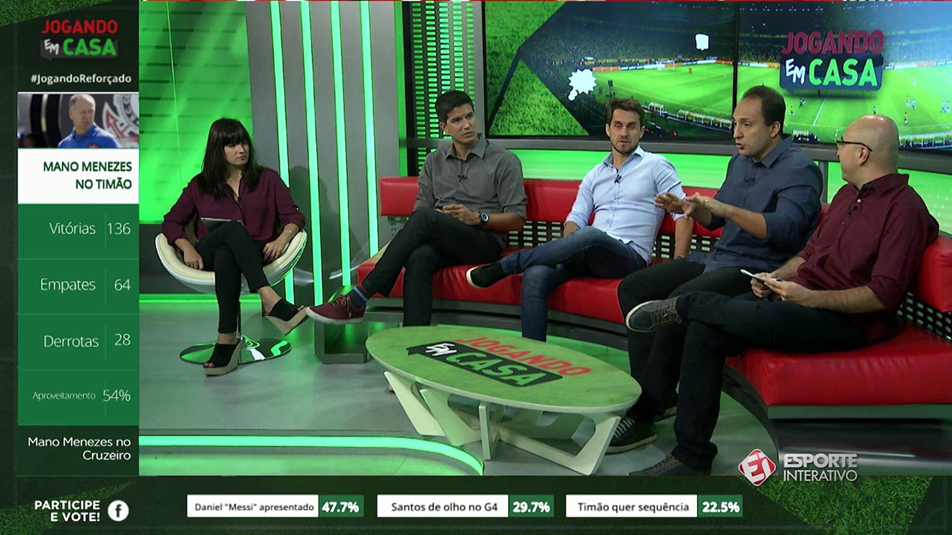 Jogando em Casa debate contratação de Mano Menezes pelo Cruzeiro
