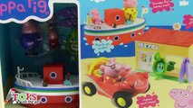 Peppa Pig Vacaciones en el mar Holiday by the Sea Playset   Juguetes de Peppa Pig
