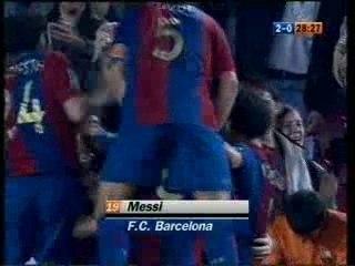 Gol de Messi al Getafe 18/04/07