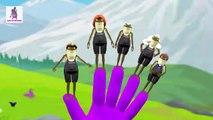 Frog Finger Family | Frog Crazy Finger Family Children Rhymes - Nursery Songs for Kids
