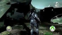 Halo- Reach XBOX 360 VS XBOX ONE (1080p 60FPS)