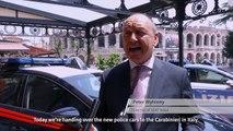 Italian Police Force puts its faith in SEAT Leon