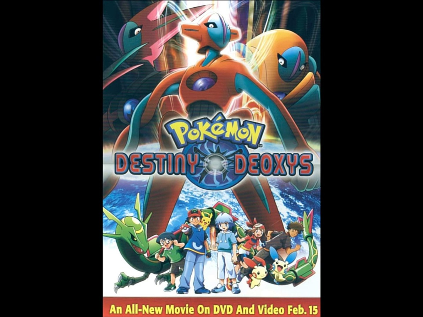 pokemon destiny deoxys full movie