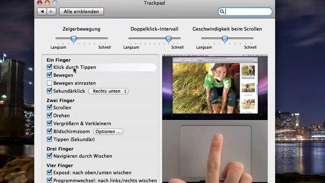 Mac OS X MultiTouch Trackpad Teil 5 Umsteiger / Einsteiger / Switcher