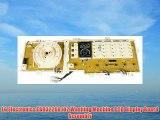 LG Electronics EBR32268102 Washing Machine PCB Display Board Assembly