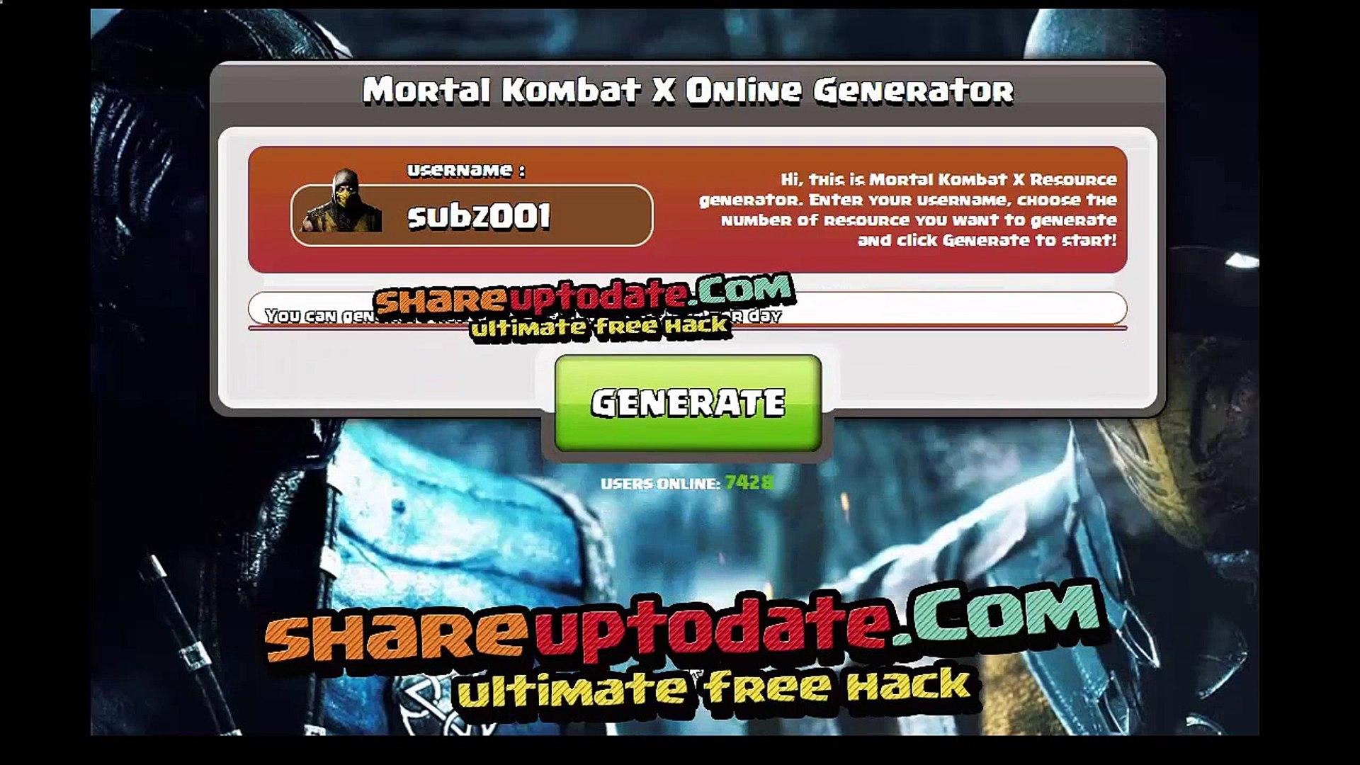 How to get LEGIT free souls, Mortal Kombat X cheat, No Hack tool, Unlimited  souls koins!