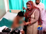 Child Protection Bureau sends 8 years old burnt child to Jinnah Hospital-Geo Reports-04 May 2015