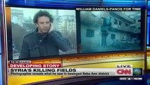 CNN : hala gorani  A witness to Syria_s killing fields.