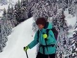 Apres midi en ski-raquette au Plateau de Beauregard  (La Clusaz)