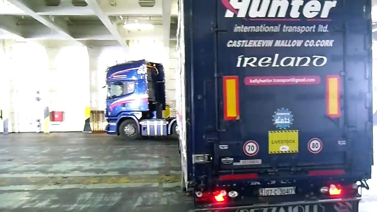irish livestock trucks