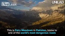 Fairy Meadows in Pakistan is home to one of the world's most dangerous roads, and it is absolute NOPE city!