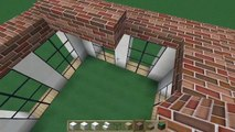 Minecraft lets build 9x9 house