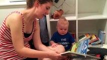 Le bébé qui ne voulait jamais arrêter de lire