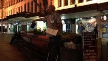 Crowd Rescues Street Preacher - Brisbane Evangelism 14 June 2014