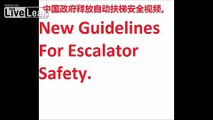 Chinese Government Releases New Escalator Safety Video