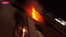 Incendio a Parigi, il video dei soccorsi. Fermato un sospetto