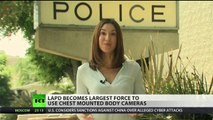 LAPD deploys 7,000 officer bodycams to curb police abuses
