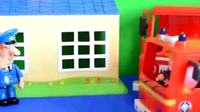 Full Story WOW Fire Fire Engine Postman pat Van Peppa Pig Play doh Fireman Sam Episode Full Stor
