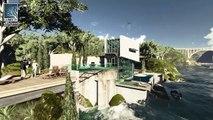 Architectural visualization contest: nature, sea, summer villa and environment by RenderCORE Studios
