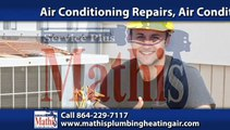 Air Conditioning Clinton, SC | Mathis Plumbing & Heating