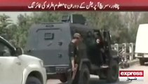 Peshawar Police Search Operation