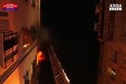 Incendio Parigi: fermato un sospetto